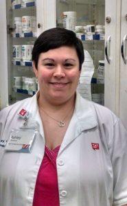 Pharmacist Ashley Weems, a 2008 graduate of UA